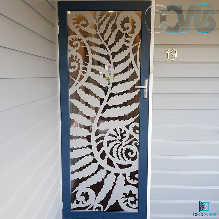 CCWS Branded Decoview Fern Flow white blue